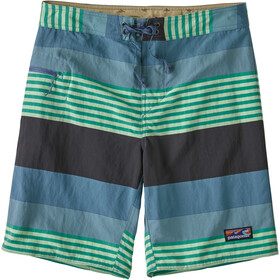Patagonia Wavefarer Pantaloncini sport acquatici Uomo, fitz stripe/pigeon blue